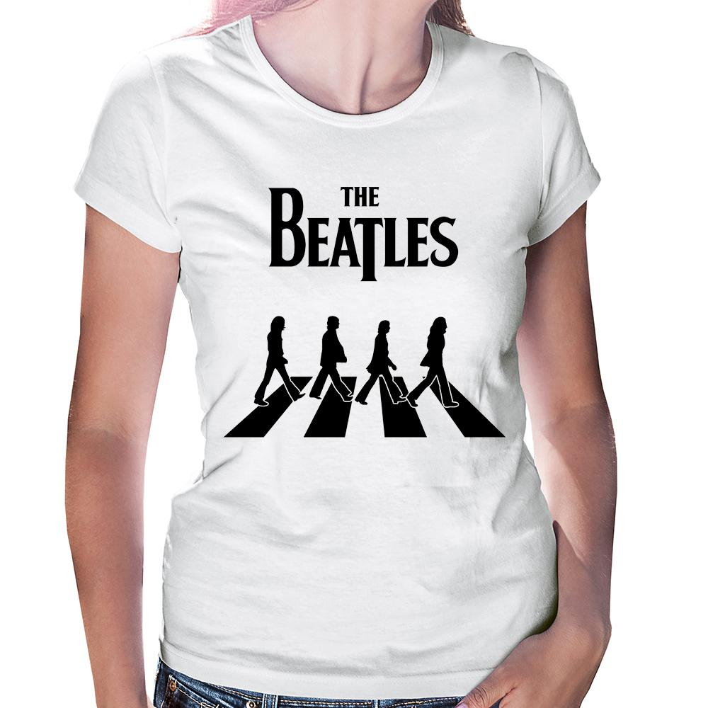 Camiseta Baby Look The Beatles Abbey Road