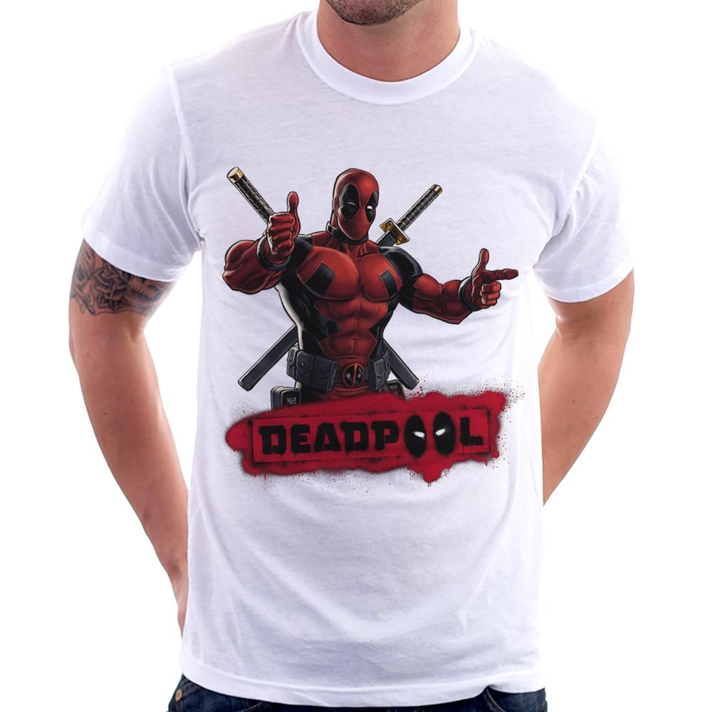 30bf30702 Camiseta Deadpool
