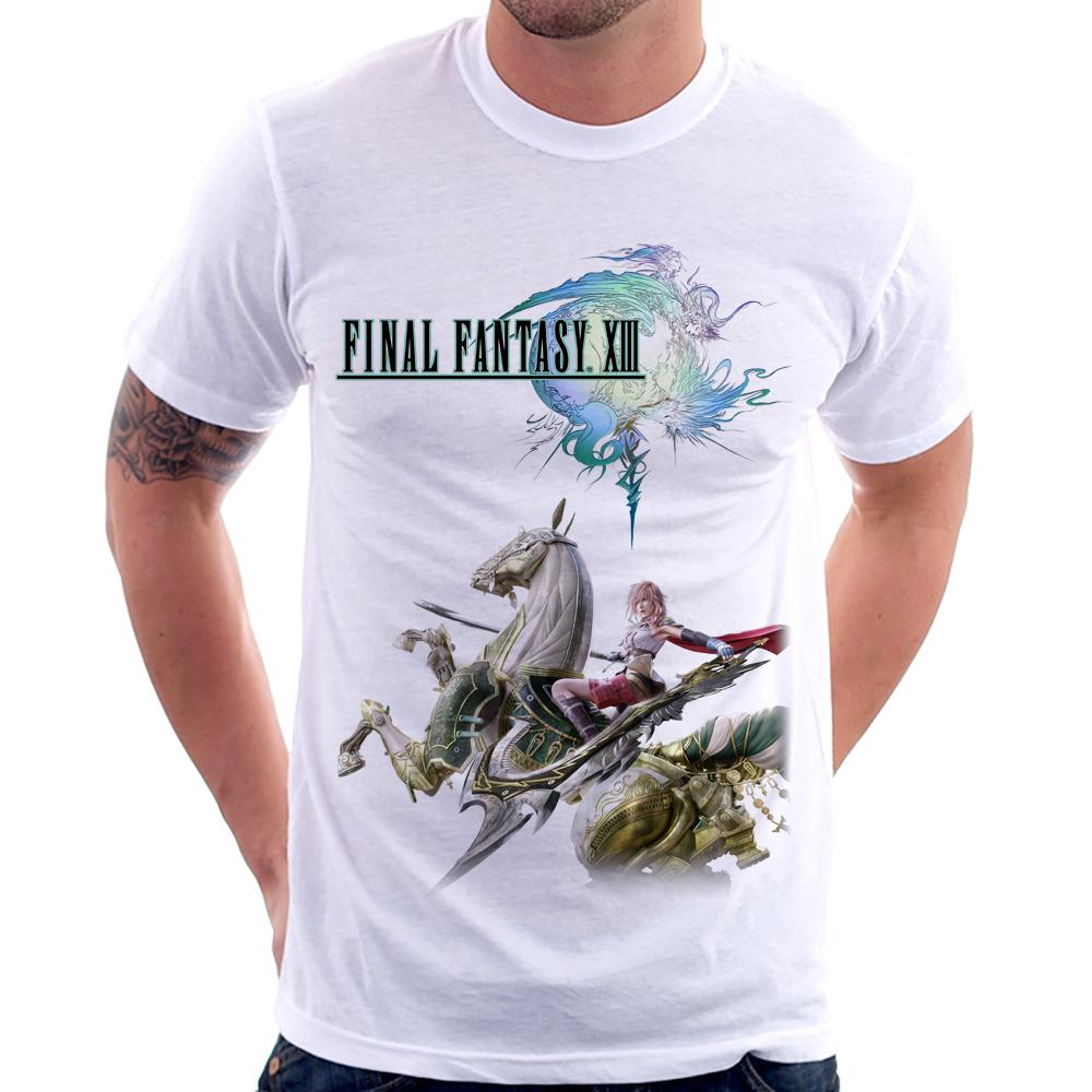 Camiseta Final Fantasy XIII Lightning & Odin