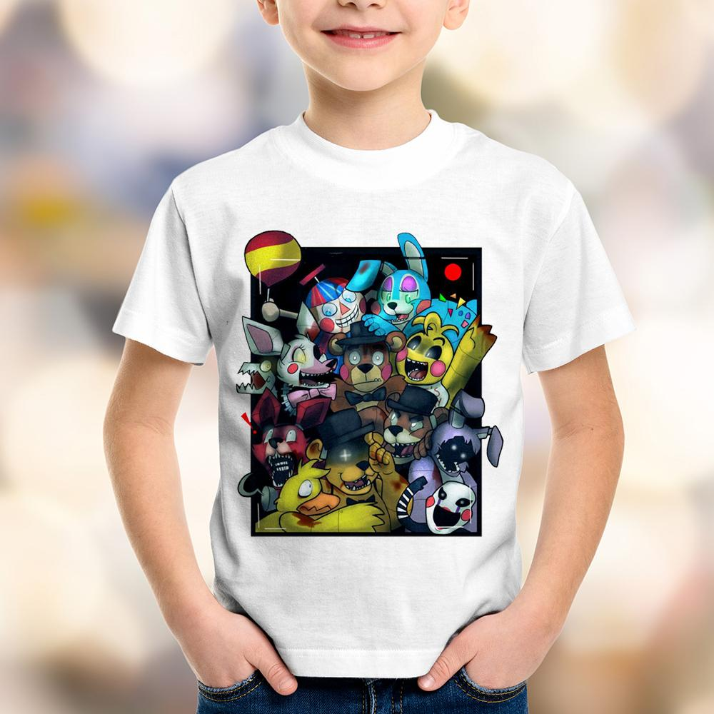 Camiseta Infantil Five Nights At Freddy's