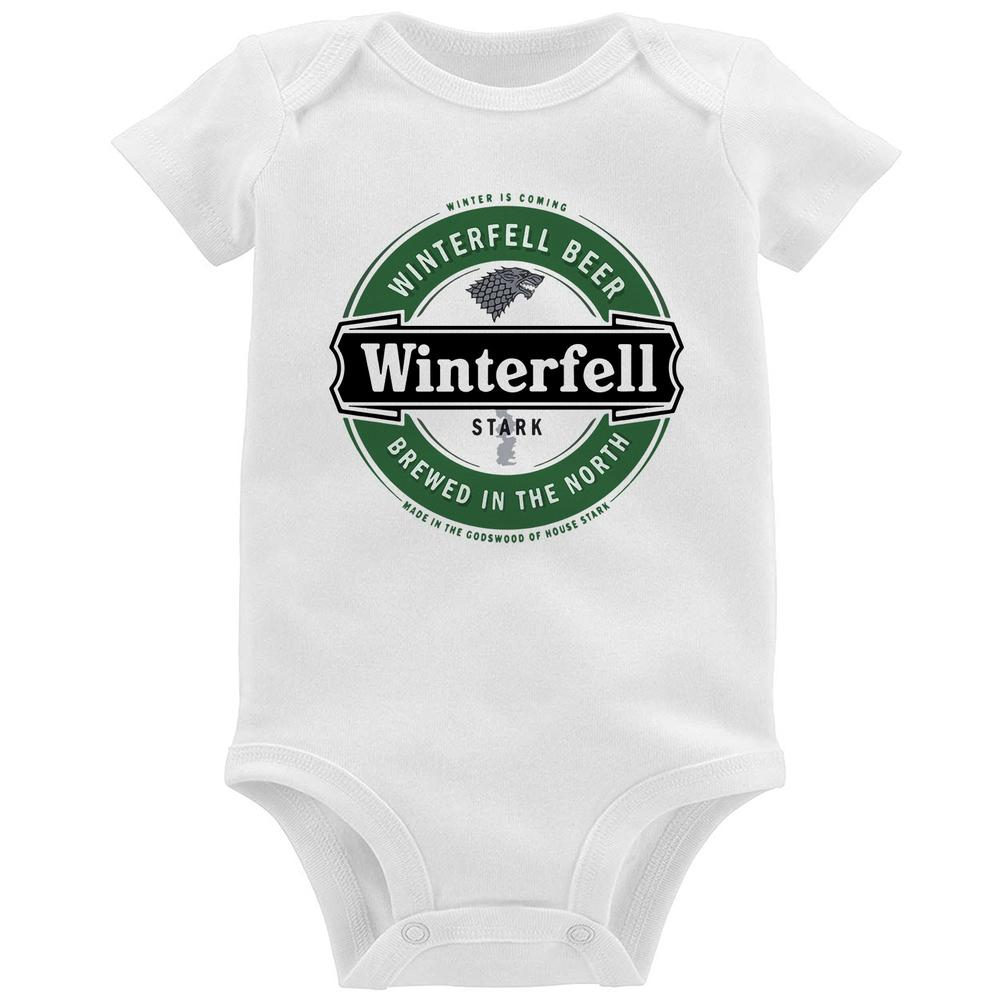 97f7d62023e6e Body Bebê Game of Thrones Winterfell Beer