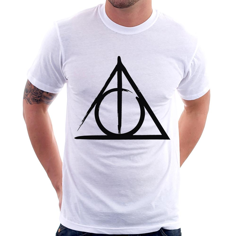 Camiseta Harry Potter Relíquias da Morte
