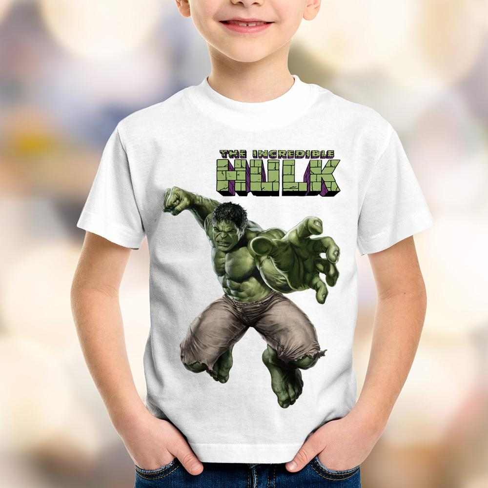 Camiseta Infantil The Incredible Hulk Avengers