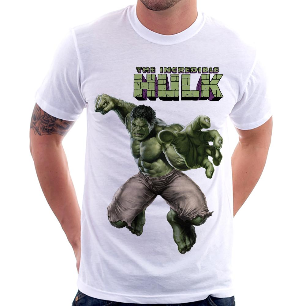 Camiseta The Incredible Hulk Avengers