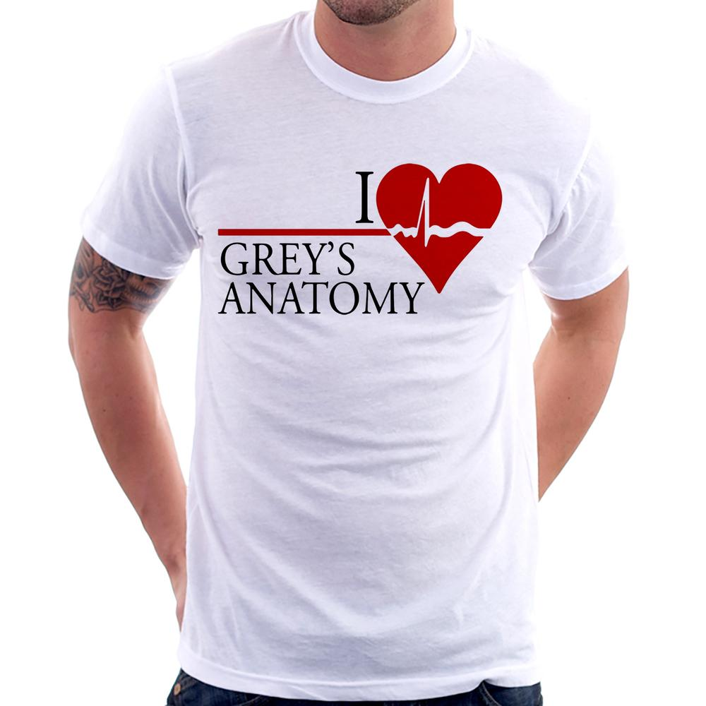 Camiseta I Love Grey's Anatomy