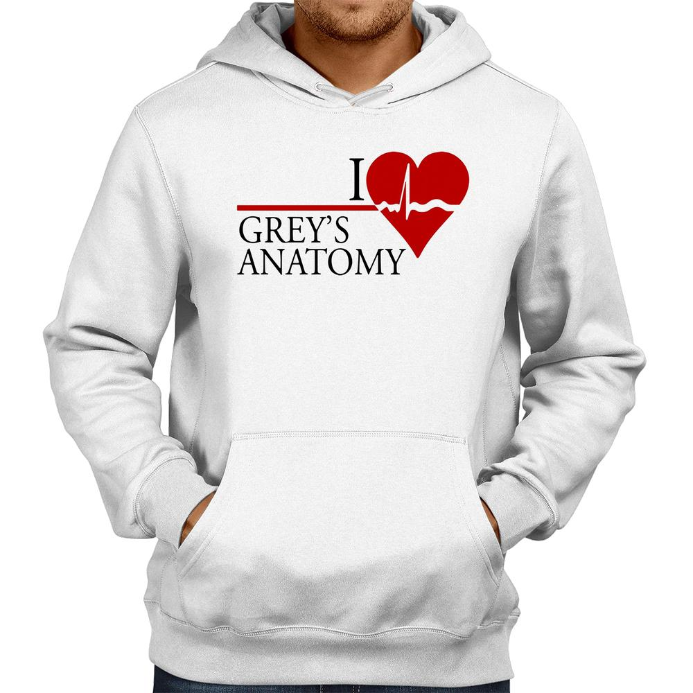 Moletom I Love Grey's Anatomy