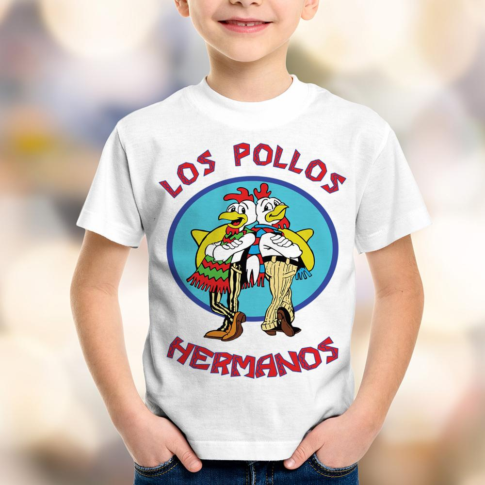 Camiseta Infantil Breaking Bad Los Pollos Hermanos