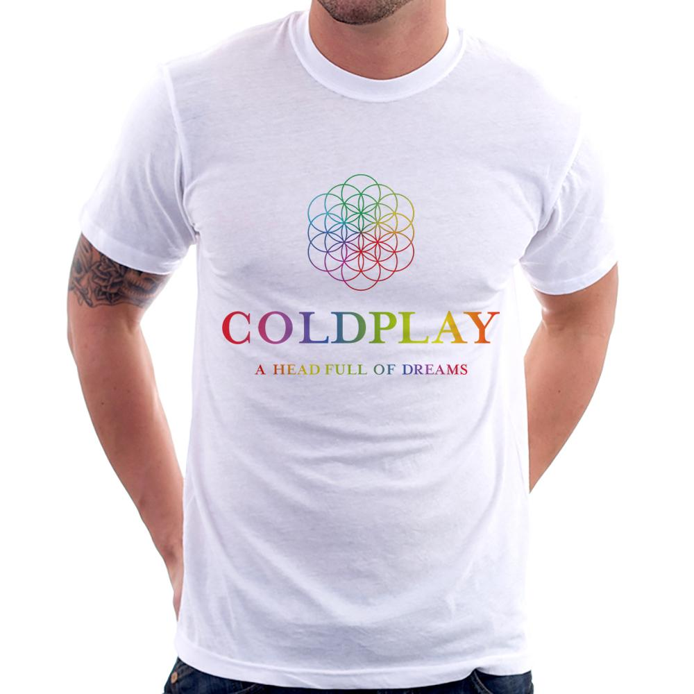Camiseta Coldplay A Head Full of Dreams
