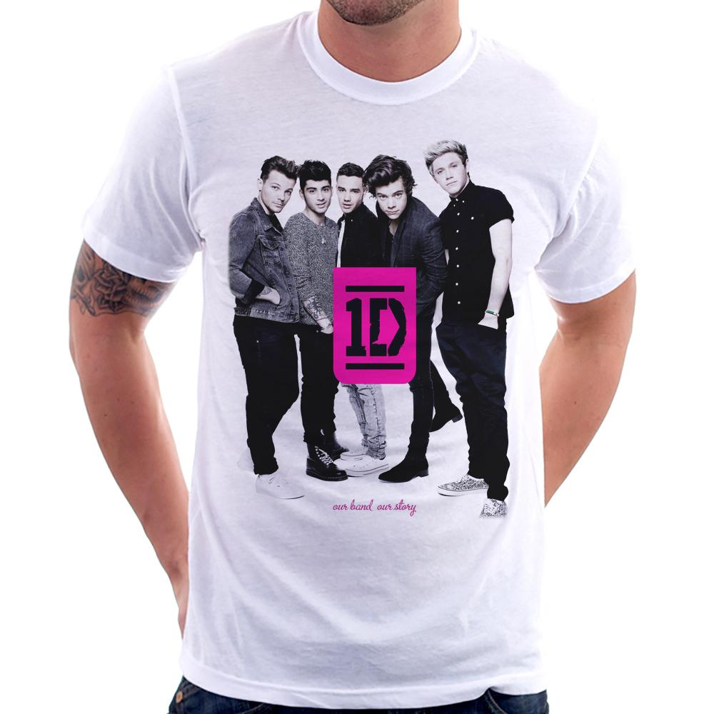 Camiseta One Direction (1D)