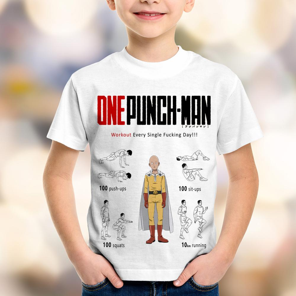 Camiseta Infantil One Punch Man