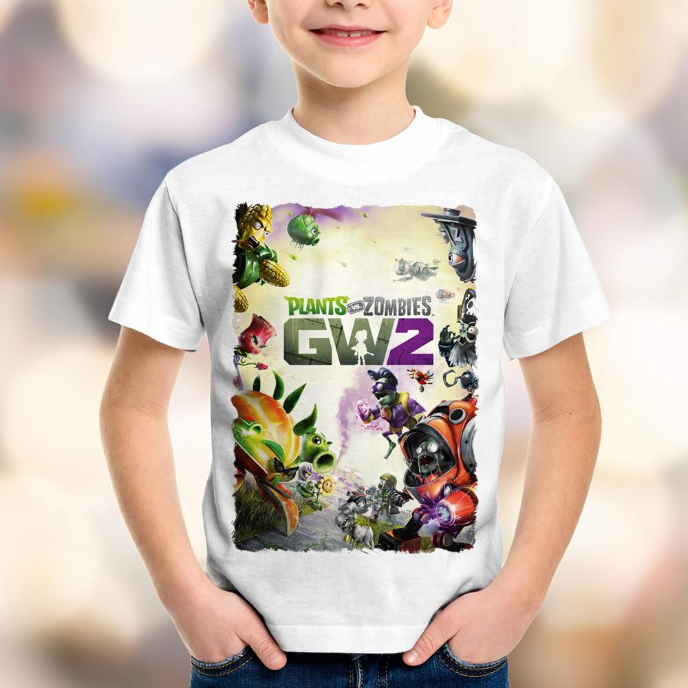 Camiseta Infantil Plants vs Zombies Garden Warfare 2