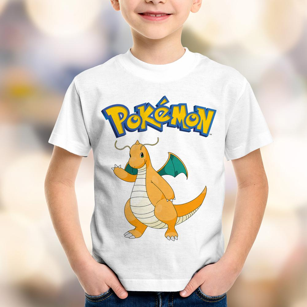 Camiseta Infantil Pokémon Dragonite