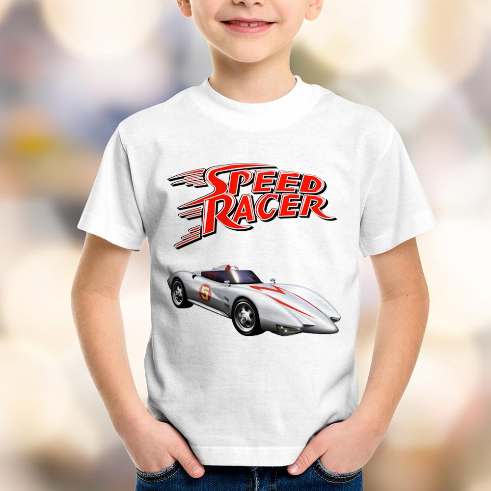 Camiseta Infantil Speed Racer