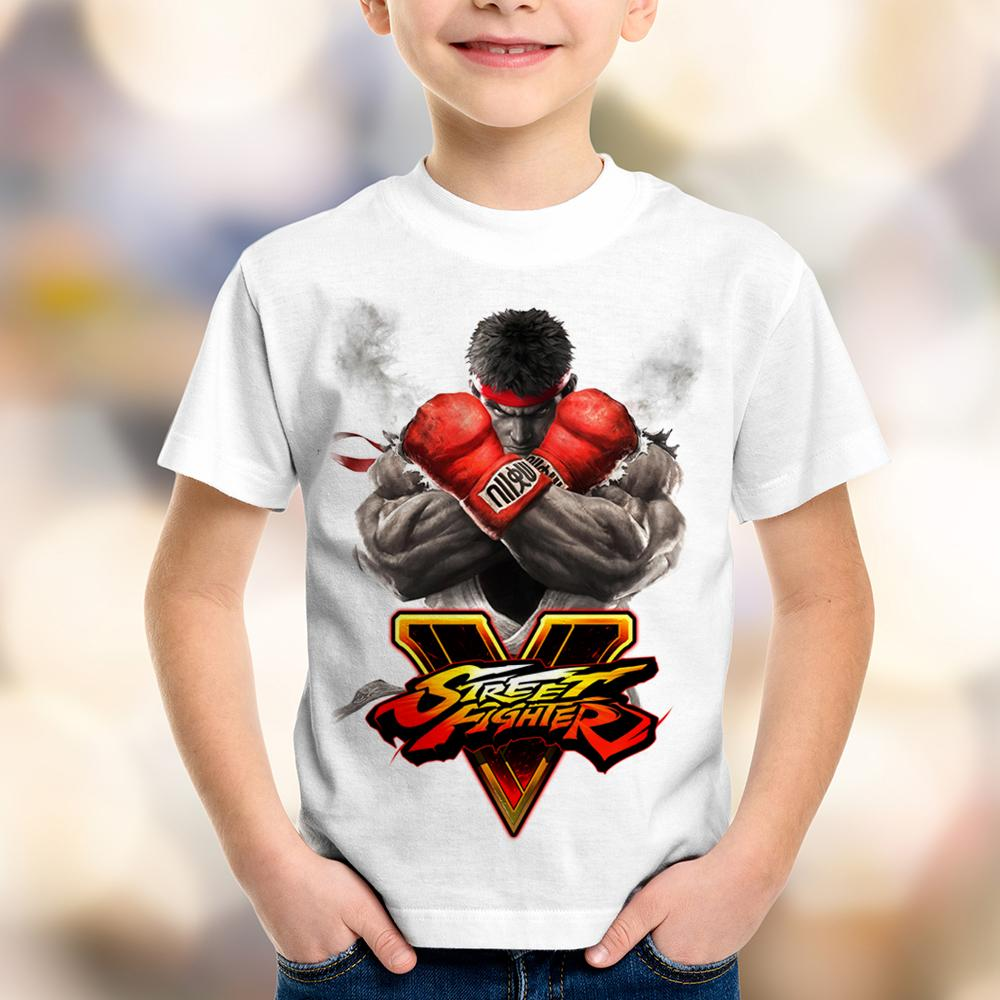 Camiseta Infantil Street Fighter V
