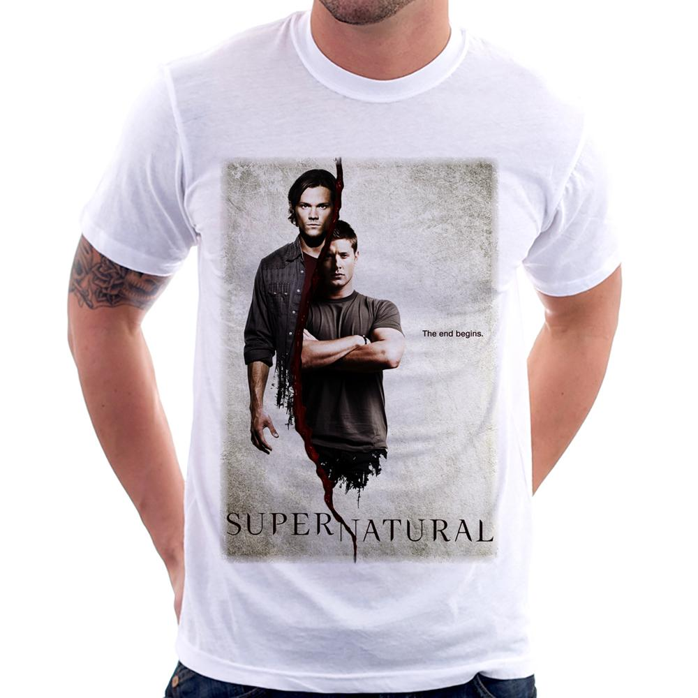Camiseta Supernatural The End Begins