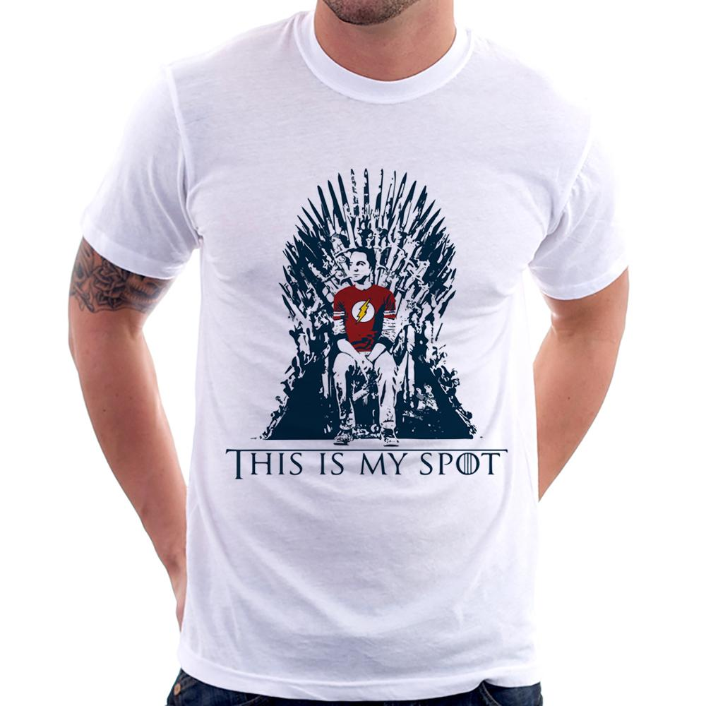 Camiseta The Big Bang Theory (This Is My Spot)