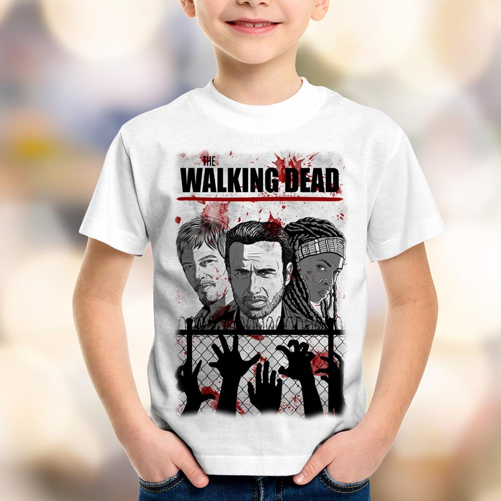 Camiseta Infantil The Walking Dead