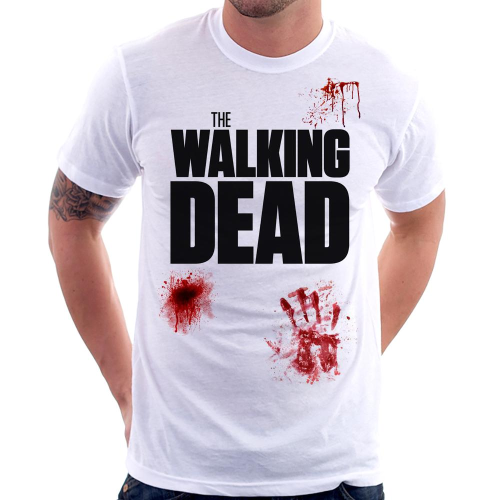 Camiseta The Walking Dead Sangue