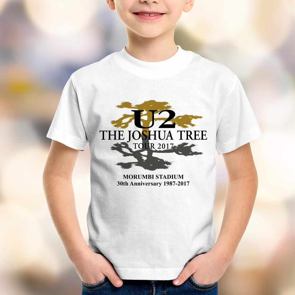 Camiseta Infantil U2 The Joshua Tree Tour